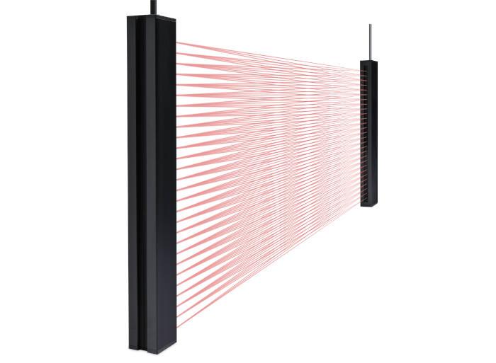 Telco sensors mittaava valoverho lähetin vastaanotin