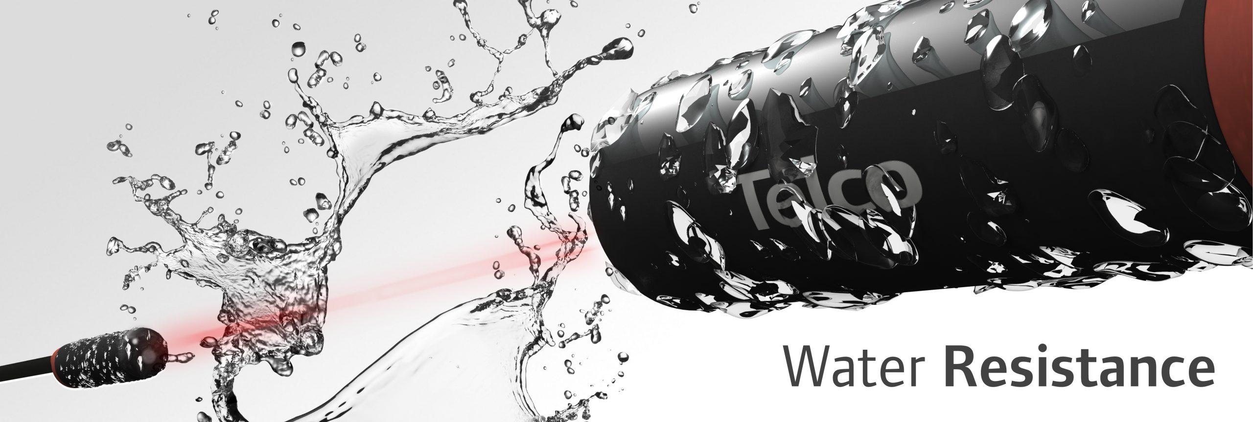 Telco Sensors kosteuden, veden pitävyys water resistance